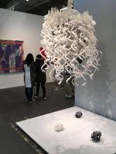 "Petah Coyne, ""Untitled #1410 (Mishima's Spring Snow)"""
