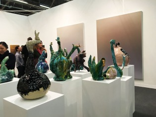 Ceramic pieces by Sebastian Stroher
