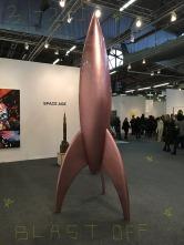"Sylvie Fleury, ""First Spaceship on Venus"""