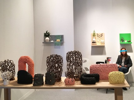 "Linda Lopez, ""Somewhere Someone"", ""Still"", and a variety of ceramic works"